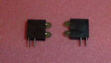 NEW 20PCS GREEN/GREEN LED TWO-Level FOR PANEL 90degrees,standard size 3MM 2X1