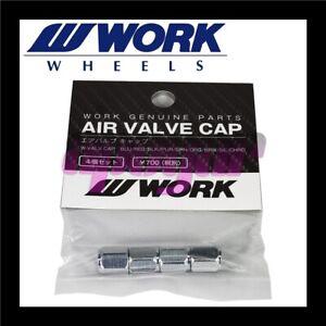 AKDSteel 4pcs Aluminum Val-ve Stem Caps Tire Caps for Te-sla Mo-del 3 //S//X Autoaccessory Items