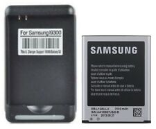 New 2100mAh Battery + Charger For Samsung Galaxy S3 i9300 L710 i747 i535 T999