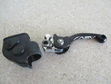 2013 SUZUKI RMZ 450 ASV FRONT BRAKE LEVER BLACK FOLDING, MX97
