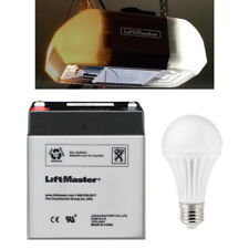 Liftmaster 485LM Battery OEM for Garage Door with 12W 5000K Replacement LED Bulb