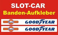 Slotcar LEITPLANKEN BANDE Aufkleber 3,5cm GD-DESIGN     85964