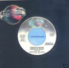 Pointer Sisters ~45~ American Music ~ Planet 13254 ~ M-