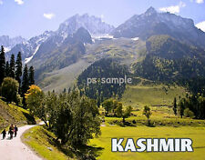 India KASHMIR   Travel Souvenir Fridge Magnet
