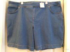 Terra e cielo Pantaloncini Di Jeans 0X 3X 4X Comfort Cintura Relaxed Fit controllo della pancia