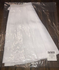 NEW American Apparel Womens White Tennis Pleated Skirt - Size: XS