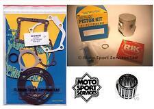 Honda CR 125 92-99 Mitaka Top End Rebuild Kit Piston C Gasket Small End Bearing