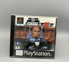 Formel1 98 (Sony Playstation 1, 1998) PS1 Autorenn Spiel, Retro Game