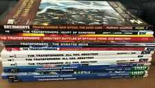 The Transformers 12 TPB LOT All Hail Megatron, Armada, Heart of Darkness + More