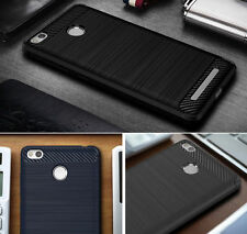 Luxury Shockproof Hybrid Soft Rubber Silicone TPU Brushed Case Cover For Phone