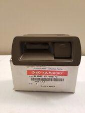 1995-1997 Kia Sportage CLOCK ASSEMBLY - Brown - 0K01255710B70