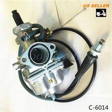 Carburetor w / Cable for Honda TRX250 TRX 250 Recon ATV 1997 1998 1999 2001  e2