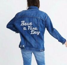 Madewell Have A Nice Day Denim Jacket Large