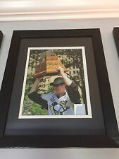 Evgeni Malkin Signed Auto Stanley Cup Conn Smyth 8 x 10 - Pittsburgh Penguins