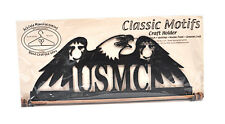 Classic Motifs US Marine Corps 12 Inch Fabric Holder With Dowel