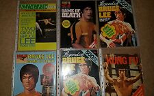 bruce lee, rare magazines for sale. £18 per 1 x magazine.choose any 1
