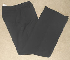 APT 9 Black Polyester blend Casual Dressy Modern Fit  PANT Sz 6 Ave 32 X 32 NWT