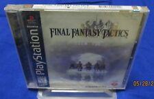PS1 - Final Fantasy Tactics ~ Brand New Factory Sealed ORIGINAL Black Label MINT