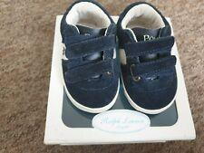 NEW Ralph Lauren blue crib shoes UK size 1.5