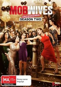 Mob Wives - Season 2 - 5 Disc Set - New Region 4 DVD - FREE POST