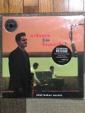 Chet Baker - Chet is Back! - 180g LP ORG Pressed at Pallas Germany NEW! Sealed!