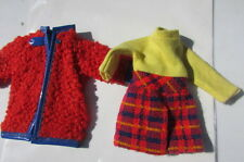 Vintage Skipper Doll Clothing Wooly Winner #1746 Dress Coat VHTF Mod Barbie