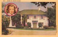 Los Angeles California~Actress Movie Star Irene Dunn Residence~Photo Inset~1940s