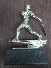 Baseball trophy home run hitter black base award personalized