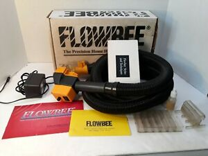 Vtg FLOWBEE home haircutting system 1992 With Accessories Works