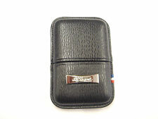 S.T. Dupont Ligne 2/Gatsby Contraste Leather Lighter Case Black (180324)