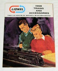 Original Lionel 1968 Catalog
