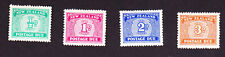 New Zealand GVI 1939 Postage due set wmk43 MNH, fine, sgD41/40 cat £45