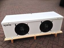NEW SEARLE KEC35-GLY EVAPORATOR, CUBIC COOLER, 240V, WATER / GYLCOL COOLER