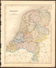 1840 ca ANTIQUE MAP - HOLLAND