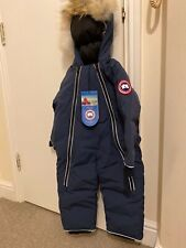 Canada Goose Lamb Snowsuit 18/24 Months BRAND NEW WITH TAGS