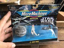 NIP 1995 Micro Machines Star Wars SPACE VEHICLES 3-Pack #10 NEW