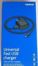 Genuine Nokia AC-60X Fast Charger & USB Cable for Lumia 800 830 900 920 925 930