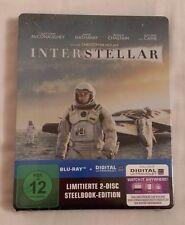 Interstellar blu ray steelbook alemán 1st impresión: primero Alemania Nueva 2 Disco
