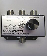 Workman CX3 3 Way Antenna Switch Box FASTEST SHIPPING