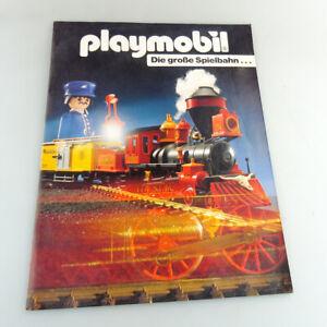 Playmobil Eisenbahn Katalog DIN A4 24 Seiten von 1991 neuwertig #433