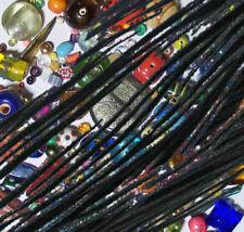 Schwarze Gewachst Drähte, Perlenfäden zur Schmuckherstellung