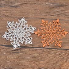 Snow Cutting Dies Cardmaking Hand Craft Stencil Scrapbooking Album DIY Christmas