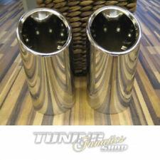Per Vw Seat Skoda Originale Tubo Finale Cappa di Scarico Copertura Cromo da 65mm