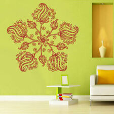 Wall Decal Vinyl Sticker Mandala Menhdi Flower Om Indian Hindu Buddha (Z2860)