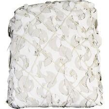 Filet bâche de camouflage renforcé - couleur blanc - plusieurs tailles*
