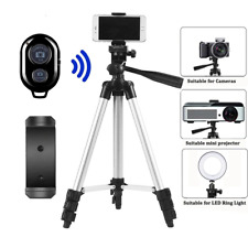 Tripod For Cameras, GoPros, Projectors and More! Comes With Phone Mount!