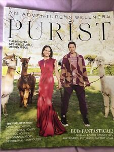 Purist Magazine Design Issue 2021 Roberr Downey Jr.