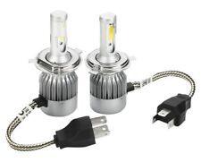 CREE H4 72W 7200LM LED Headlight Conversion Globes Bulbs Beam Kit 6000K High/Low