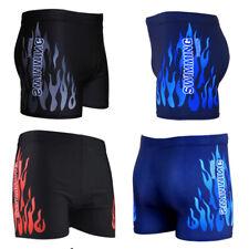 Men's Boxer Briefs Swimming Swim Shorts Trunks Swimwear Beach Pants Underwear SZ