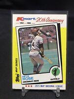 1982 Topps Kmart 20th Anniversary Pete Rose 1973 MVP #24